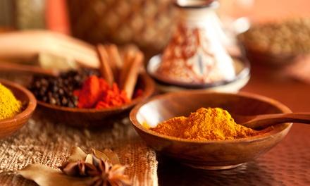 Heerlijk Indisch vegetarisch viergangen keuzemenu in hartje Gent bij Royal India vanaf 49,99€