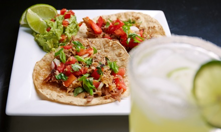 Mexican Dinner for Two or Four with Top-Shelf Margaritas at López Restaurante y Cantina (Up to 42% Off)
