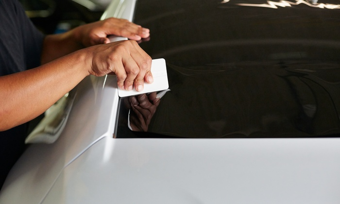 China Car Wash - Little Havana: Window Tint for a Two- or Four-Door Car at China Car Wash (Up to 51% Off)