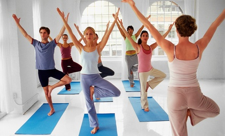 One or Two Months of Unlimited Yoga Classes at Divine Power Yoga (Up to 82% Off)