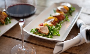 Duncan Creek Wine Bar & Grille: Upscale Steak, Seafood, and Global Cuisine with Drinks at Duncan Creek Wine Bar & Grille (Up to 47% Off)