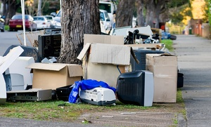Fire Dawgs Junk Removal: $49 for $105 Worth of Junk-Removal Services from Fire Dawgs Junk Removal