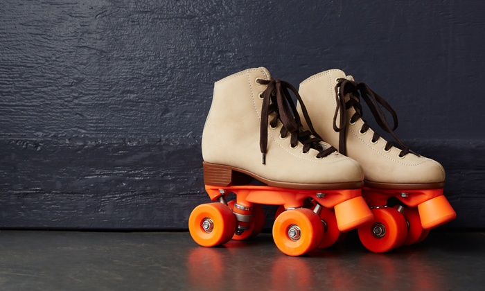 Millennium Skate World - Camden: Roller Skating with Skate Rental, Pizza, and Soda for Two or Four at Millennium Skate World (Up to 44%Off)