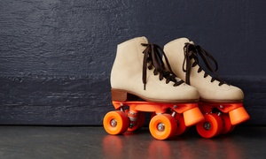 Magic Wheels Skate Center: Admission and Skate Rental for Two or Four at Magic Wheels Skate Center (Up to 55% Off)