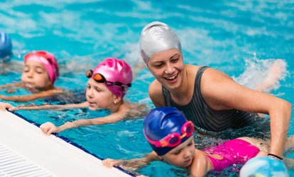 One-Month Kids Swimming Lessons at Kingfisher Swim School (55% Off)