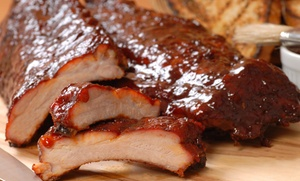 The Q Smokehouse: Barbecue Cuisine at The Q Smokehouse (Up to 50% Off). Two Options Available.