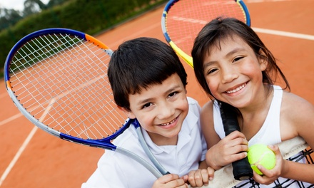 Four or Eight Group Tennis Lessons, or Half- or Full-Day Kids Tennis Camp at Dave Strebel Tennis (Up to 51% Off)