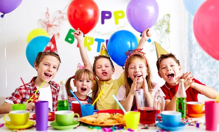 $125 Minute Party Package for Ten Children with Party Hostess at Smileez Playhouse & Café Up to $200 Value