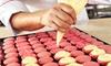 Michel Balmet, 10ème - 20 RUE JEAN ET MARIE MOINON: 1 cours de 2h30 pour apprendre à confectionner des macarons pour 1 ou 2 dès 39 € à l'Atelier Macarons Papy Bio