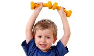 My-Gym: 5 or 10 Kids' Fitness Classes or Practice & Play Sessions at My Gym Children's Fitness Center (Up to 61% Off)