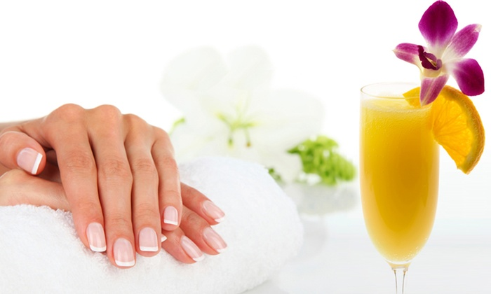 Bello Salon - Cleveland: French or Regular Manicure with SNS Nails at Bello Salon (50% Off)