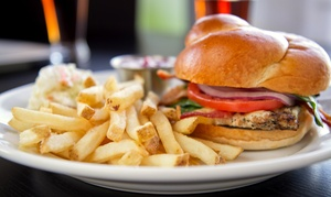 MVP Sports Bar & Grill: American Food and Drinks for Two or Four at MVP Sports Bar & Grill (50% Off)