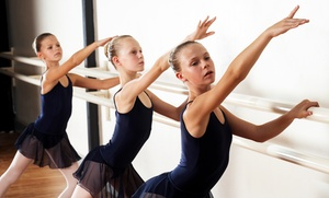 Ballet North: One Month of Ballet Classes for Kids Aged 3-9 or 10-15 at Ballet North (Up to 62% Off)