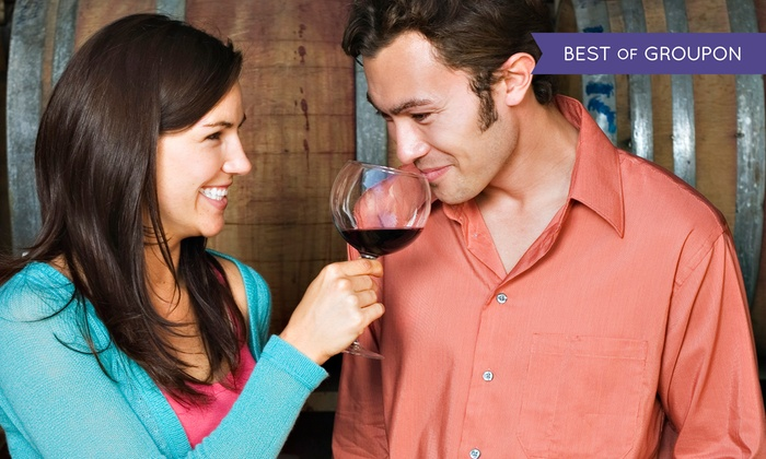 Orange Coast Winery - Newport Beach: Tasting for Two, Glasses, and Cheese with Option for One or Two Take-Home Bottles at Orange Coast Winery (Up to 58% Off)