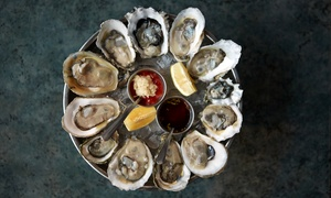 Black Irish Whiskey Bar & Oyster Saloon: Tapas, Prix-Fixe Dinner, or Oysters for Two at Black Irish Whiskey Bar & Oyster Saloon (Up to 50% Off)