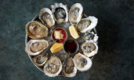 $35 for One Appetizer, 12 Oysters, and Two Bar Drinks at Ken & Cook ($59.50 Value)