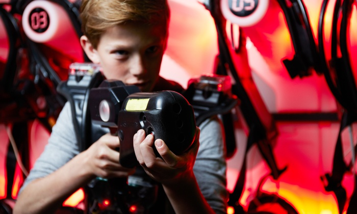 Stealth Mobile Laser Tag - Tampa Bay Area: $79 for a Laser-Tag Party for Up to 10 from Stealth Mobile Laser Tag ($160 Value)