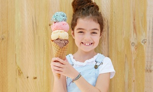Frozen Treats at Baskin Robbins (Up to 54% Off). Four Options Available.