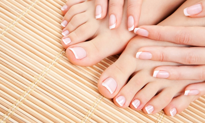 Kim's Beauty Salon - Anna's Beauty Salon: One or Two Deluxe Mani-Pedis at Anna's Beauty Salon (Up to 37% Off)