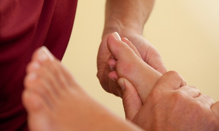 One or Three 60-Minute Foot Reflexology Sessions at New Direction Chiropractic (Up to 52% Off)