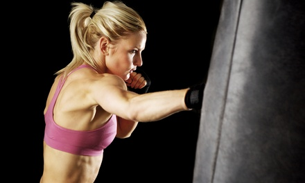 Three or Five Personal Boxing Lessons at Bam Fitness (Up to 57% Off)