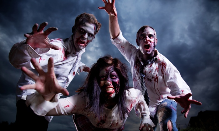 SAS Black Ops - Marietta: $29 for Laser Tag Pro Zombie Hunt and T-shirt for Two at SAS Black Ops ($60 Value)