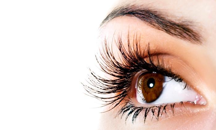 EyeLoveLash - EyeLoveLash: Full Set of 80, 110, or 160-Piece set per eye Mink Eyelash Extensions at EyeLoveLash (Up to 50% Off)
