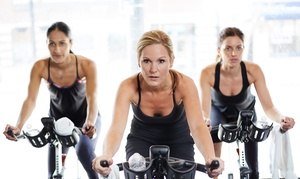 Shore Fit Club Spa for Women: 10 or 20 Women's Indoor-Cycling Classes and Club Access at Shore Fit Club Spa for Women (Up to 52% Off)