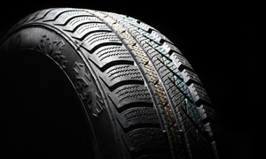 Drivers Autocentre: Up to Five Tyres per Car Lifetime of Tyre Puncture Repairs from Drivers Autocentre, Three Locations