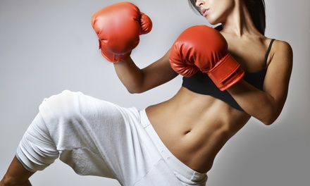 One-Month Kickboxing Fitness Membership for One or Two at 9Round (Up to 55% Off)