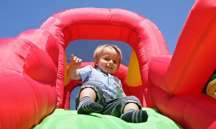 Happy Bouncers Party Rentals - Chicago: Four-Hour Inflatable-Slide Rental from Happy Bouncers Party Rentals