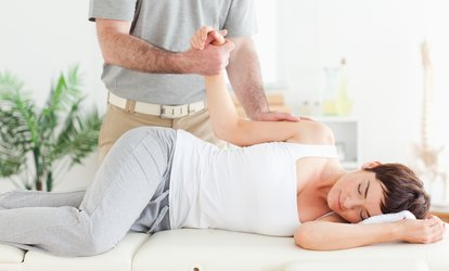 image for Chiropractic Initial Consultation, Examination, Report of Findings with Up to Three Follow Up Sessions (Up to 86% Off)
