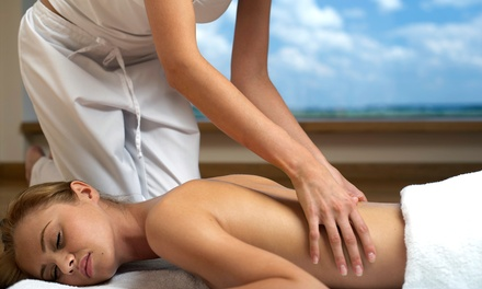 One or Three 60-minute Intro Custom Massage with Aromatherapy at Nenriki Therapy (59% Off)