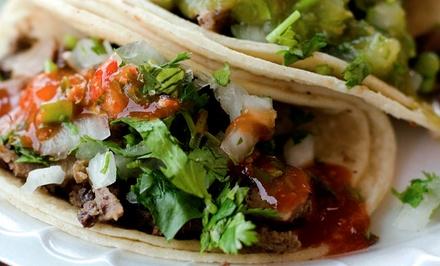 Driegangen keuzediner voor 26 pesonen bij Mexicano Mexican Grill Restaurant in Rotterdam op het Schouwburgplein