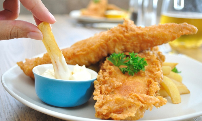 Modern nz lunch harlequin bar cafe groupon for Jj fish and chicken