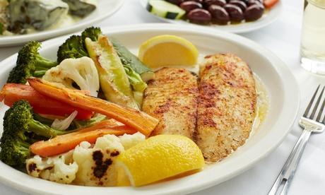 3-Gänge-Menü mit Fischplatte fürZwei oder Vier im Restaurant Ti Amo (bis zu 51% sparen*)