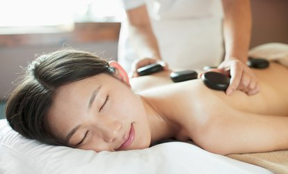 image for Choice of Massage with Full-Body Exfoliation or Manicure for One or Two at Junerain Spa and Skin Clinic (Up to 65% Off)