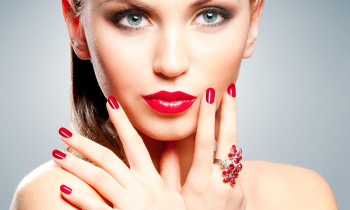 Refresh Nail & Spa - Manhasset: Shellac Manicure or Mani-Pedi at Refresh Nail & Spa (50% Off)