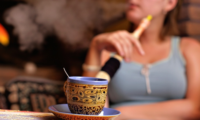 Ali Baba Cafe & Hookah Lounge - Ali Baba Cafe & Hookah Lounge: $20 for a Hookah Package for Two with Desserts and Beverages at Ali Baba Cafe & Hookah Lounge ($36 Value)