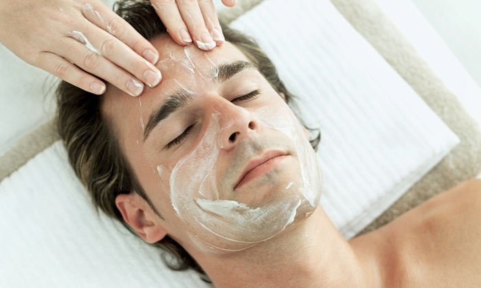 Skin Solutions Dallas - Plano: Customized Men's Facial with Option to Add Back Facial at Skin Solutions Dallas (Up to 68% Off)