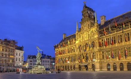 Antwerpen: standaard tweepersoonskamer met balkon óf grote tweepersoonskamer incl. ontbijt in Antwerp Harbour Hotel