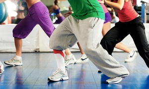 ZFitness Zone: $35 for 10 Hip Hop or Zumba Step Dance-Fitness Classes at ZFitness Zone ($100 Value)