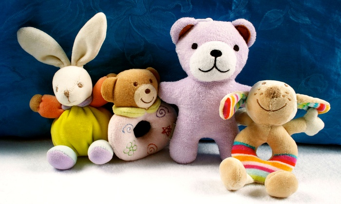 Noah's Ark Animal Workshop - Baltimore: In-Home Tie-Dye Teddy Bear Party for Five or 10 Kids from Noah's Ark Animal Workshop (Up to 59% Off)