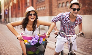 Wolftour: Bike Tour a scelta con noleggio bici e bottiglia di vino per una o 2 persone da Wolftour (sconto fino a 63%)