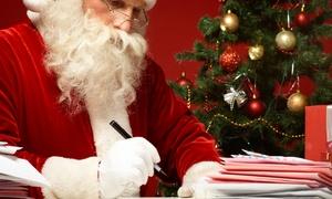 Zenais s.p.a.: 1, 2 o 4 cartas de Santa Claus 100% personalizadas desde 2,99 € con Zenais s.p.a.