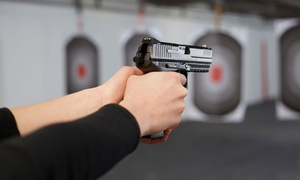 National Armory: Gun-Range Package with Equipment for Two or Four, Valid Weekends or Weekdays at National Armory (Up to 55% Off)