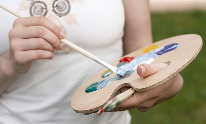 Artistic Abandon - North Raleigh: $19.50 for Two-Hour BYOB Painting Class with Materials at Artistic Abandon ($35 Value)