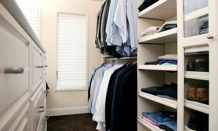D'zign - Fairfield County: Closet Makeover, Organizational System, and Decorating from D'zign (Up to 52% Off). Two Options Available.