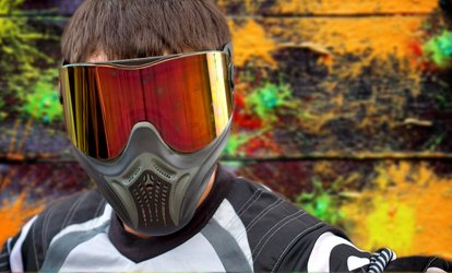 Three Hours of <strong>Paintball</strong> with Equipment for Two, Four, or Ten at Fun on the Run <strong>Paintball</strong> Park (Up to 52% Off)