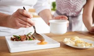 La Tourbière: Atelier cuisine dîner en 4 services chez restaurant Gault&Millau La Tourbière